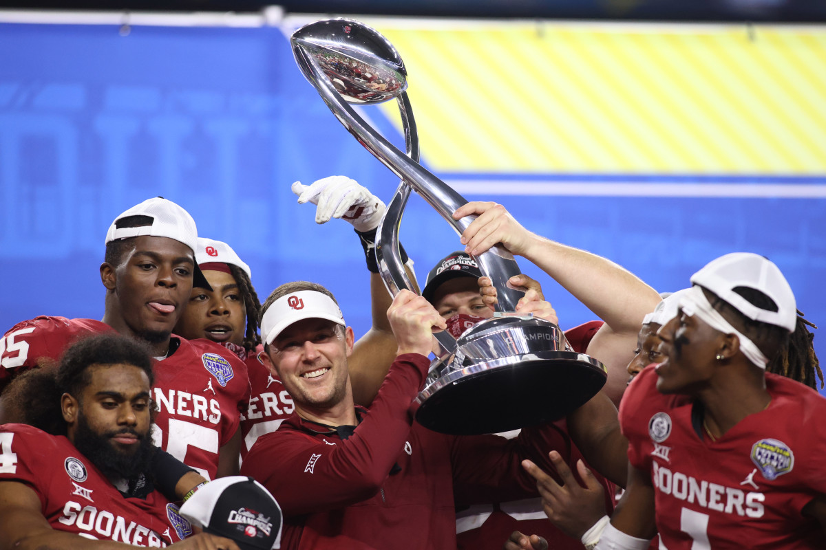 OU's trophy for beating Florida