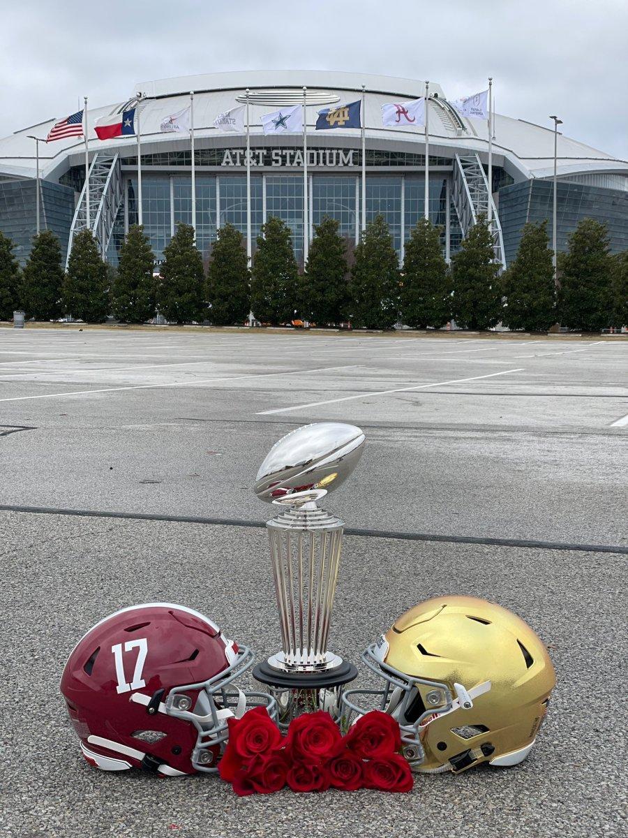 Rose Bowl: Alabama vs. Notre Dame in Dallas