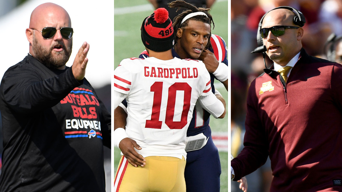 NFL Mailbag: Daboll head-coaching spots, Cam Newton and Jimmy Garoppolo futures, PJ Fleck as NFL coaching candidate