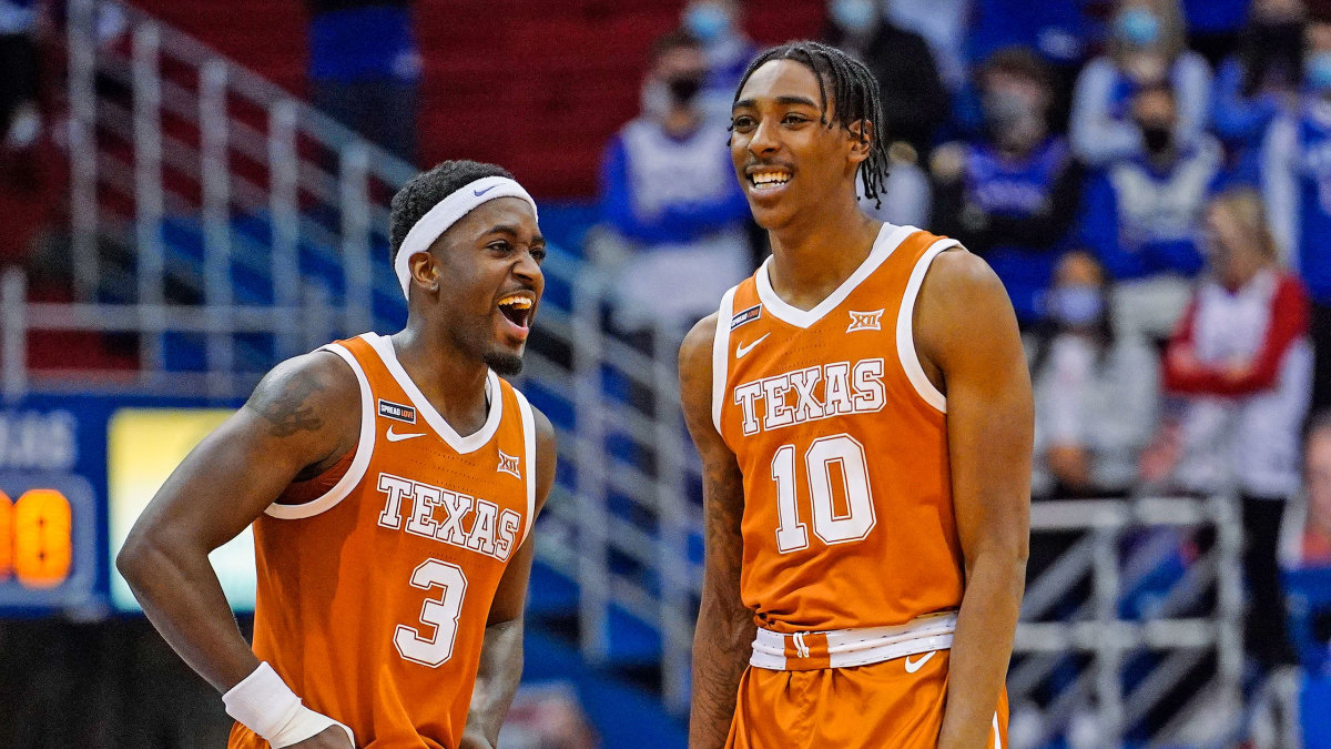 Texas basketball, Dontaie Allen lead NCAA five stars of week - Sports  Illustrated