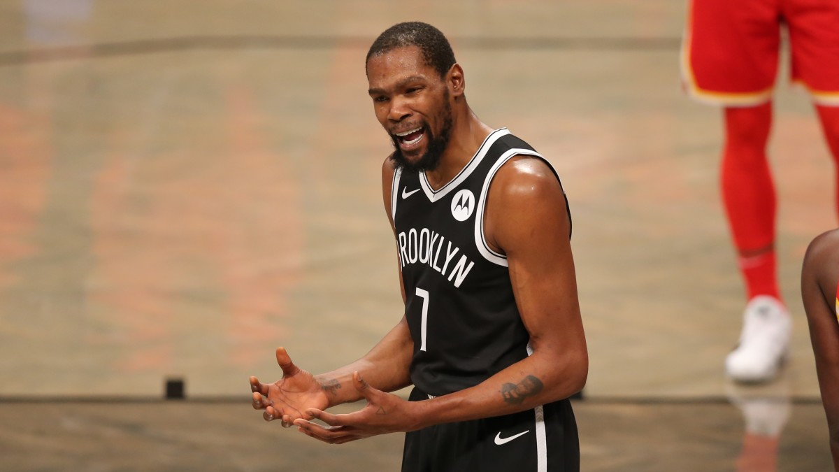 Nets star Kevin Durant out seven days due to COVID-19 protocols - Sports Illustrated