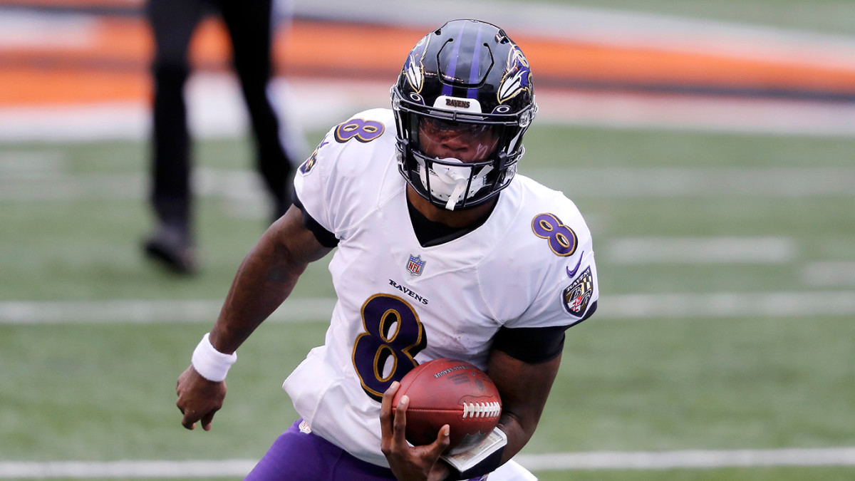 Lamar Jackson and the Ravens are facing the Titans in the AFC Wild Card Round.