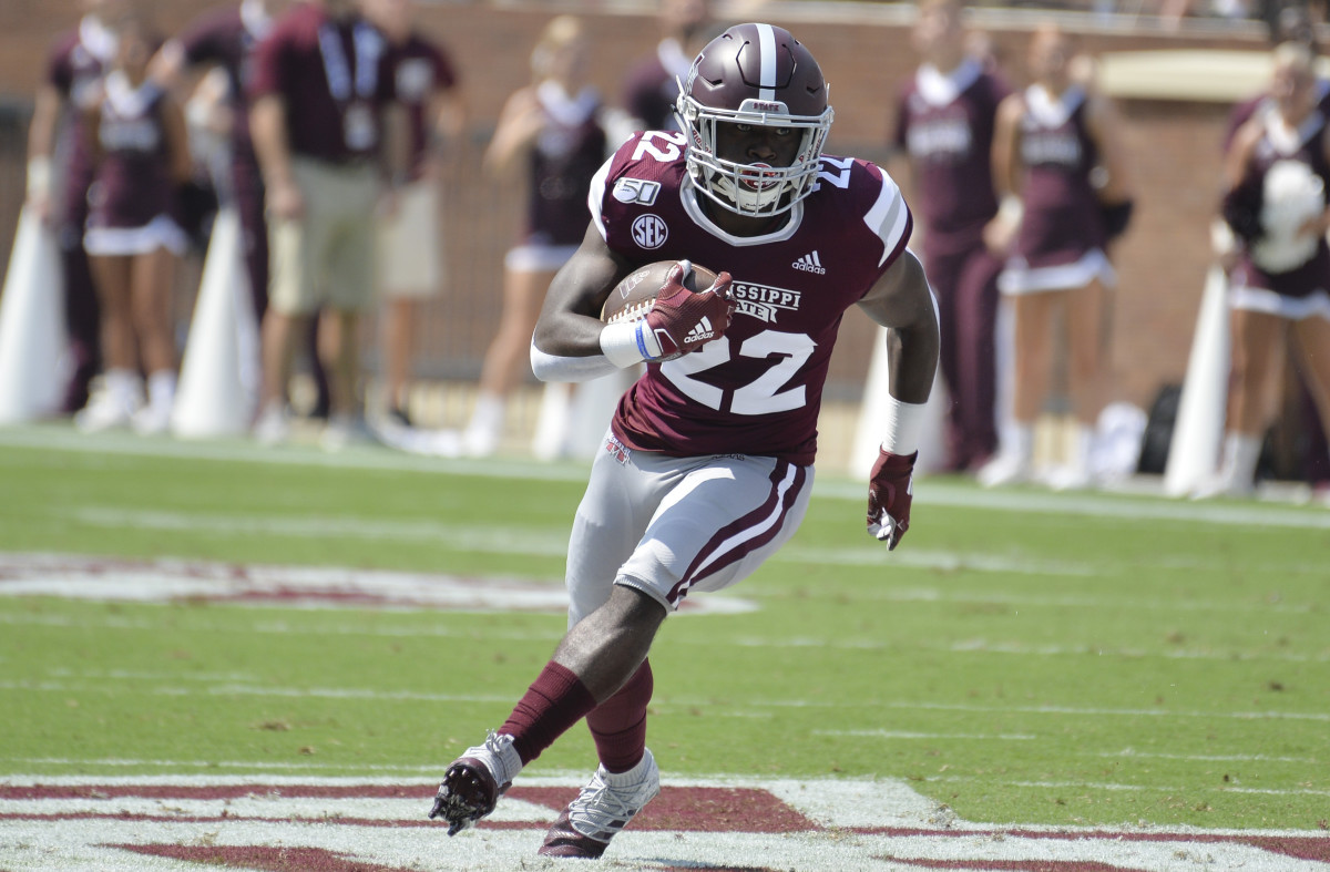 Running back Lee Witherspoon has entered the NCAA transfer portal. (Photo courtesyMatt Bush-USA TODAY Sports)
