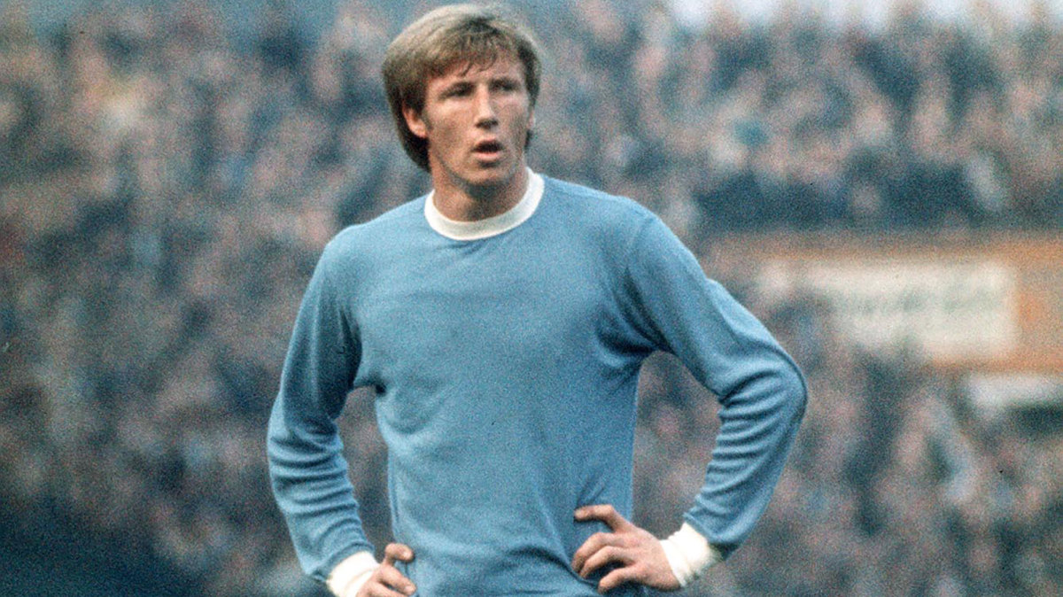 Man City great Colin Bell