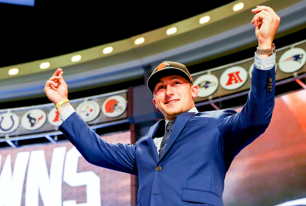 Johnny Manziel drafted by the Cleveland Browns in 2014