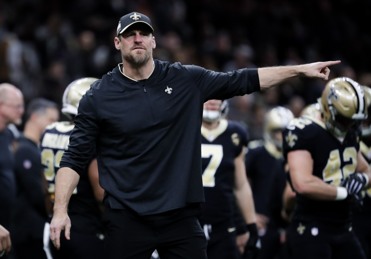 Dan Campbell - Saints assistant head coach and tight ends coach