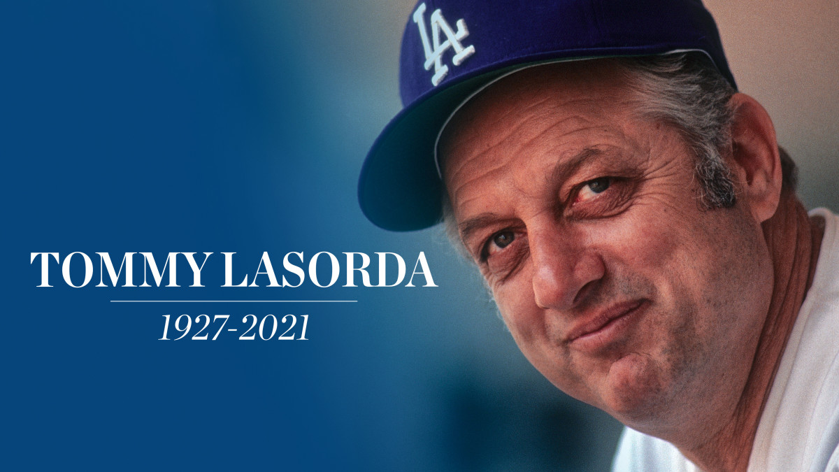 Tommy Lasorda death: Former Dodgers manager dies at 93 - Sports Illustrated