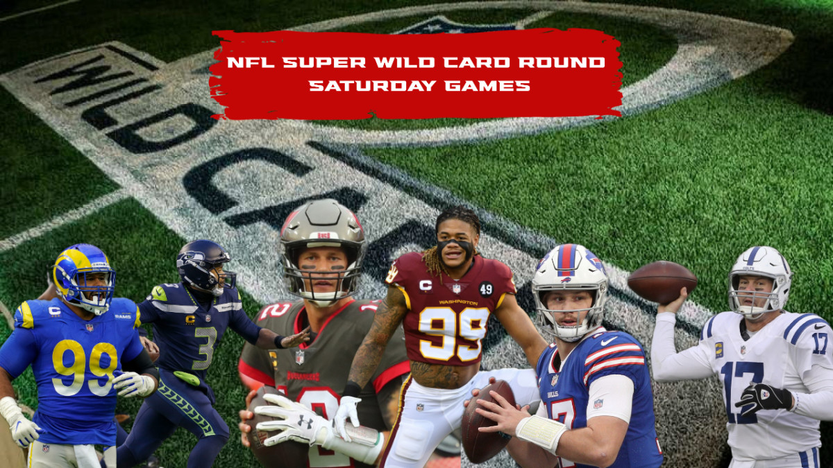 2021 NFL Super Wild Card Weekend Preview - Saturday Games