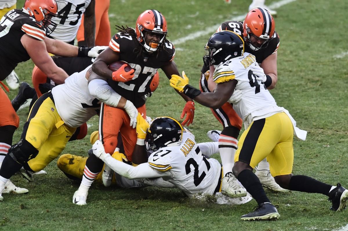 RB Kareem Hunt vs. Steelers