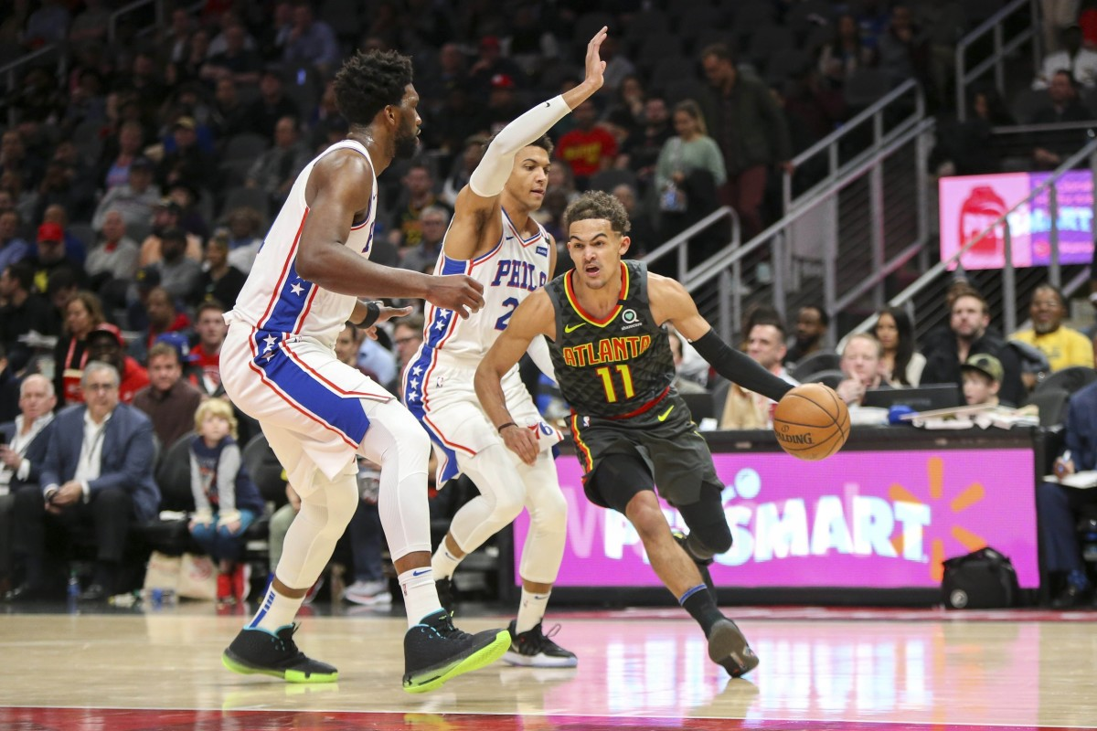 Hawks' Trae Young Appears on Injury Report vs. Sixers ...
