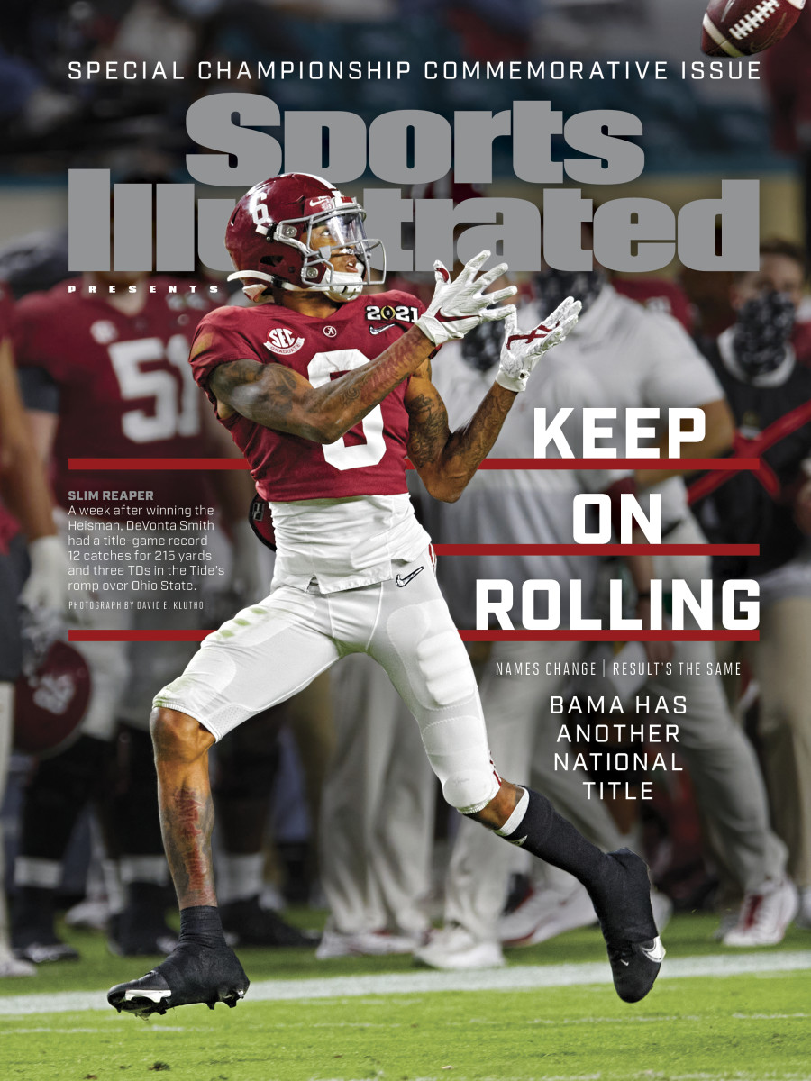 Keep On Rolling: Bama has another national title