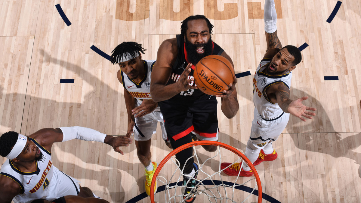 The Rockets and their fans were happy to look past Harden's ball dominance in happier days.