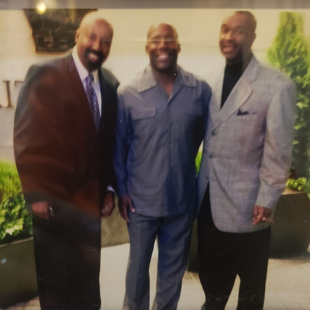 Mike Woodson (left), Wayne Radford (center) and Chuck Snowden were the three amigos dating all the way back to their days at Indiana together.