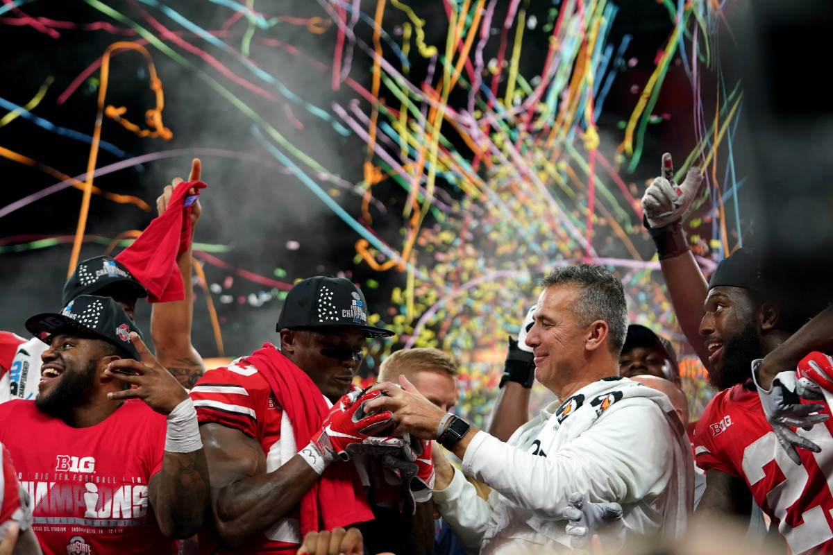 The joy of winning, the agony of losing, working with players and his health were all things Meyer considered when getting back into coaching.Mandatory Credit: Aaron Doster-USA TODAY Sports
