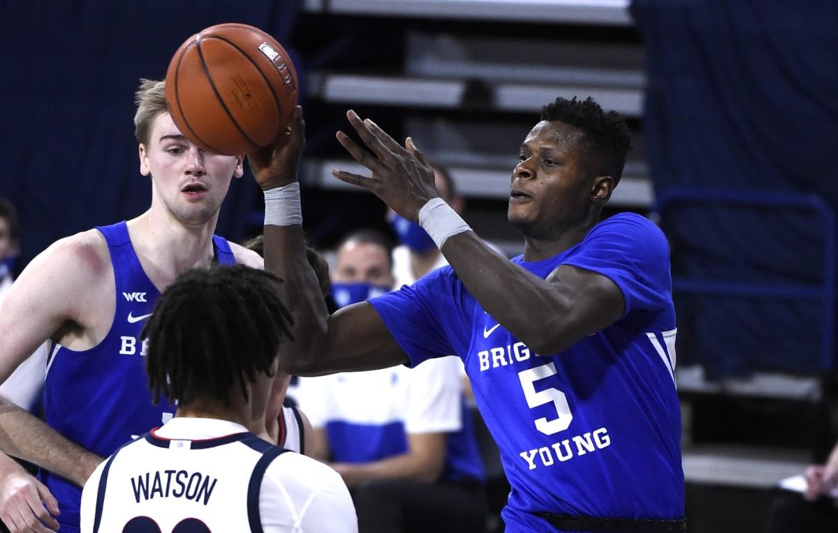 BYU Basketball's Gideon George #5