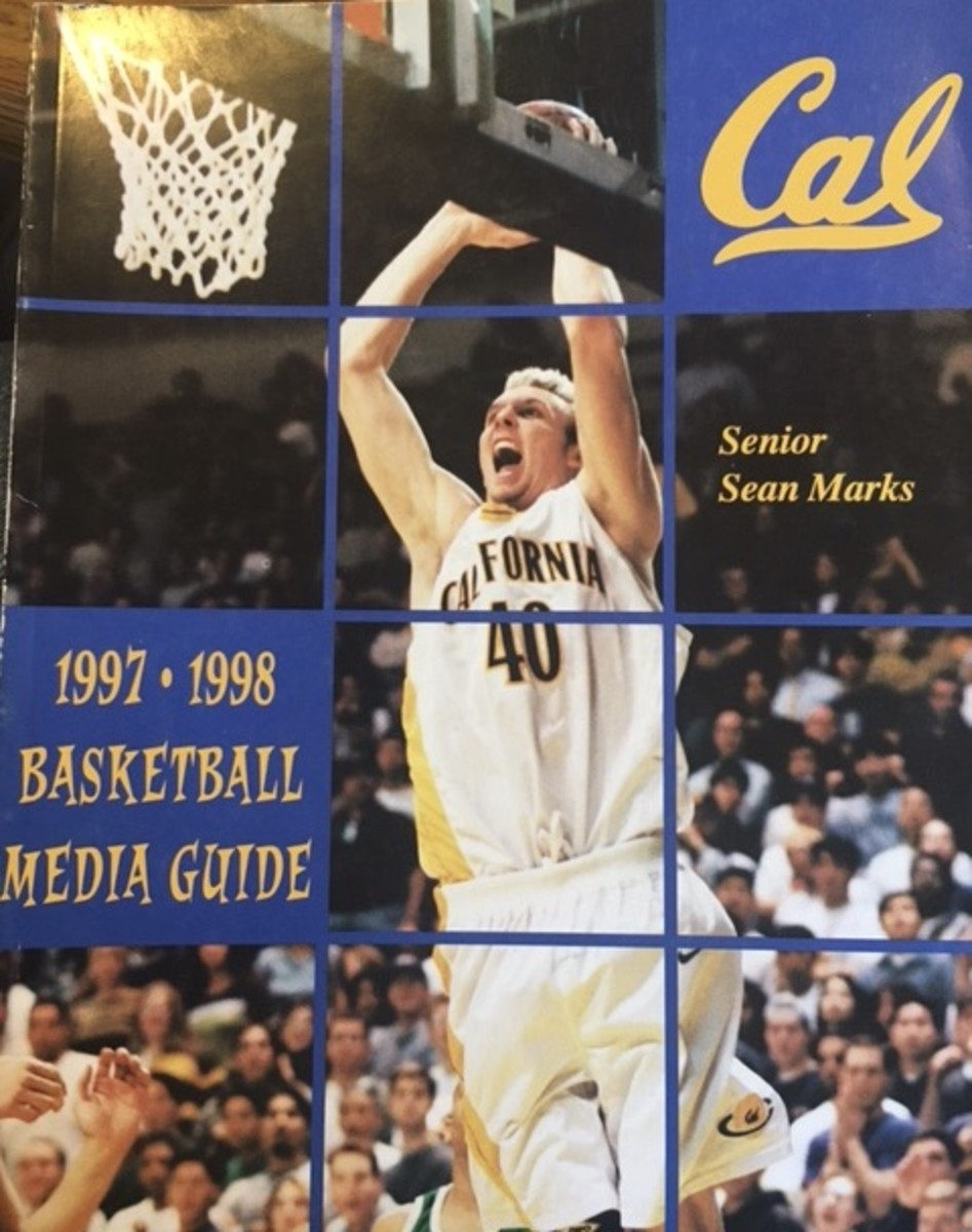 Sean Marks on the 1998 Cal media guide
