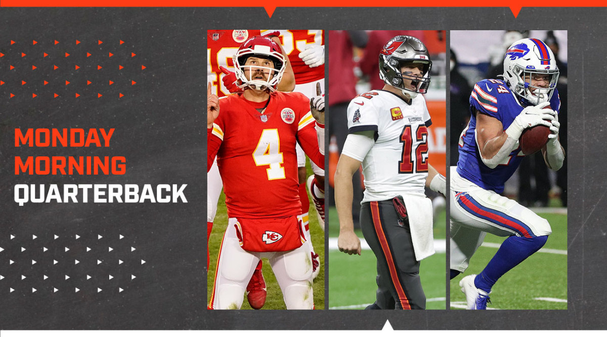 MMQB: Chad Henne Puts Away a Chiefs Win; Conference Title Game Matchups Set