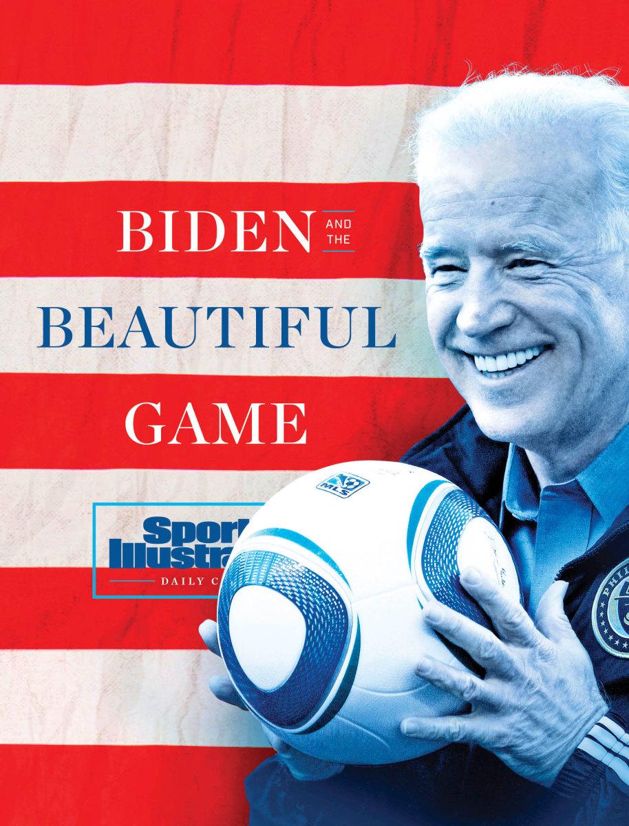 President Joe Biden and his soccer past