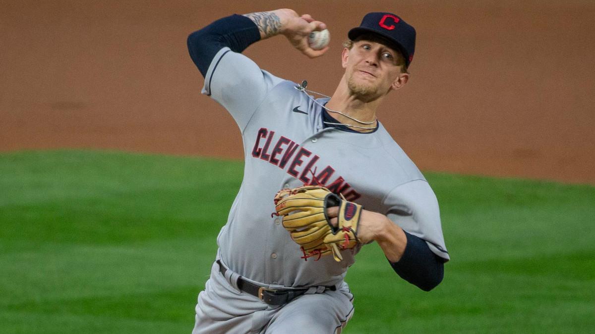 Cleveland Indians Zach Plesac