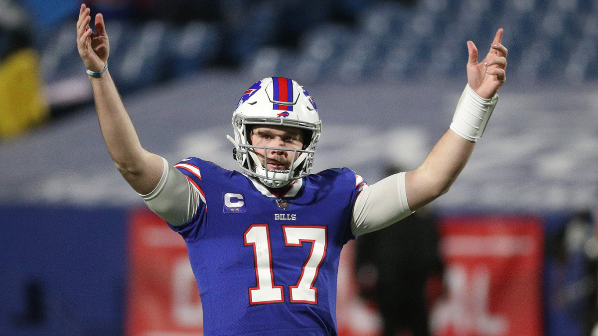 Josh Allen and the Bills visit the Chiefs in the AFC championship game.