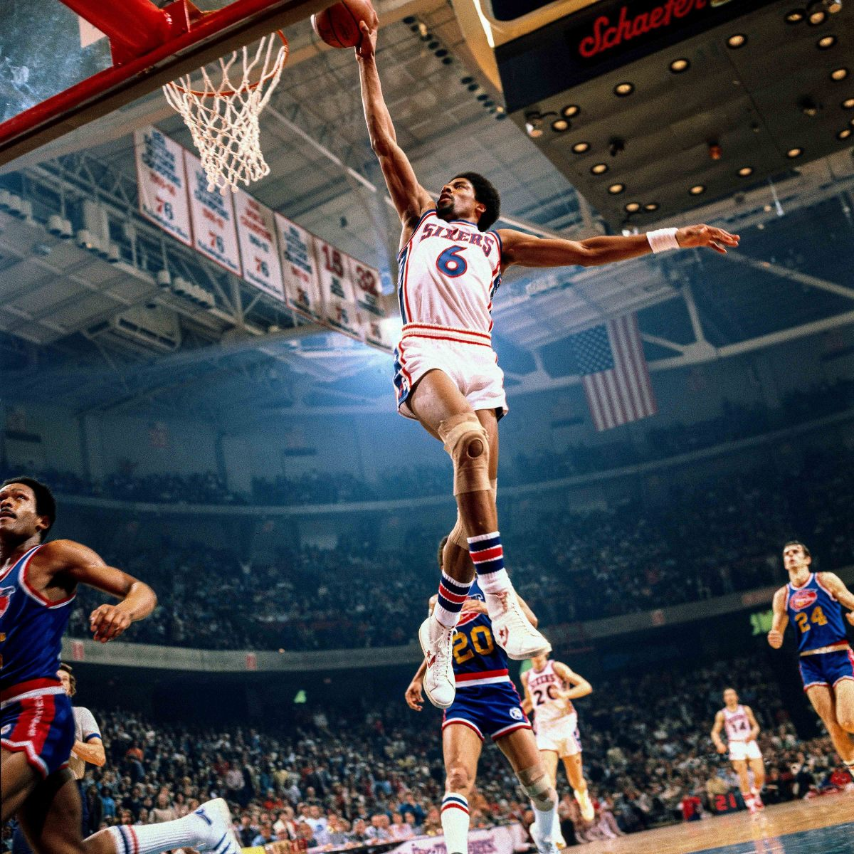 Nets fans were ticked off about the departure of Dr. J, a player they'd paid to see—so they sued.