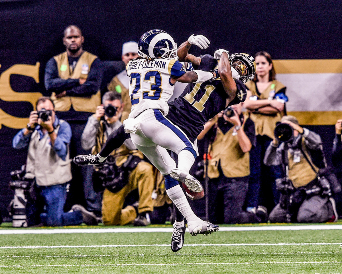 Robey-Coleman cemented his place in tales of Saints postseason sadness.