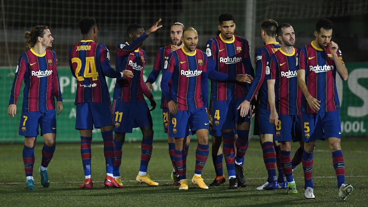 Barcelona survives Cornella, two missed PKs in Copa del ...