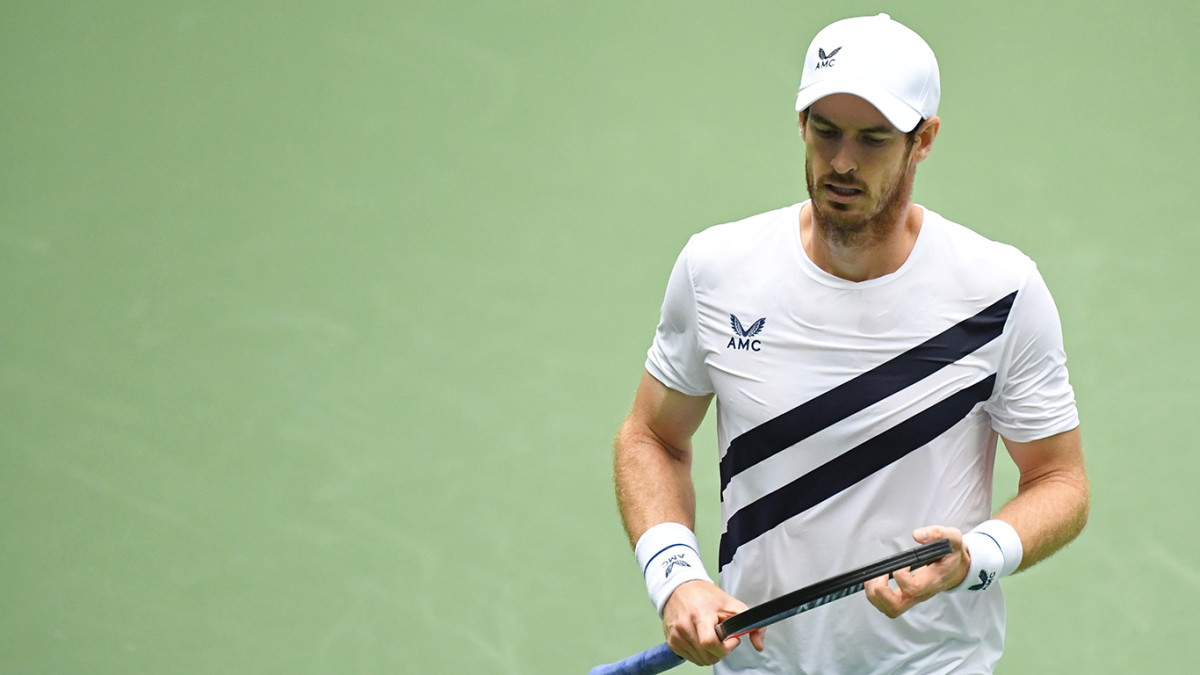 Andy Murray pulled out of the Australian Open after testing positive for COVID-19.