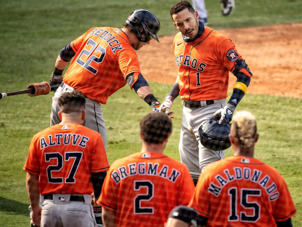 Astros celebrate