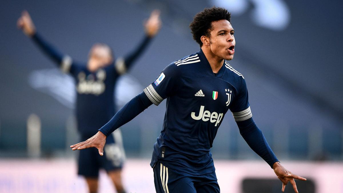 Weston McKennie scores again for Juventus