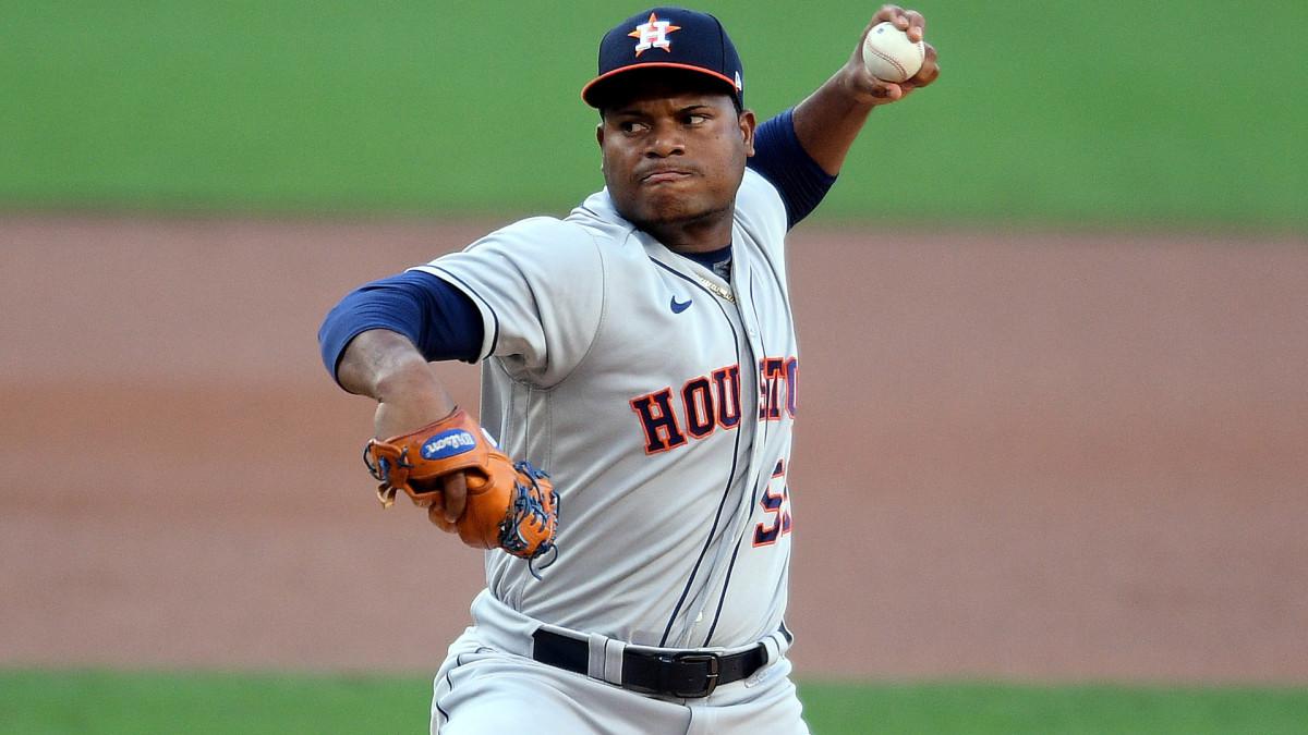 Houston Astros Framber Valdez