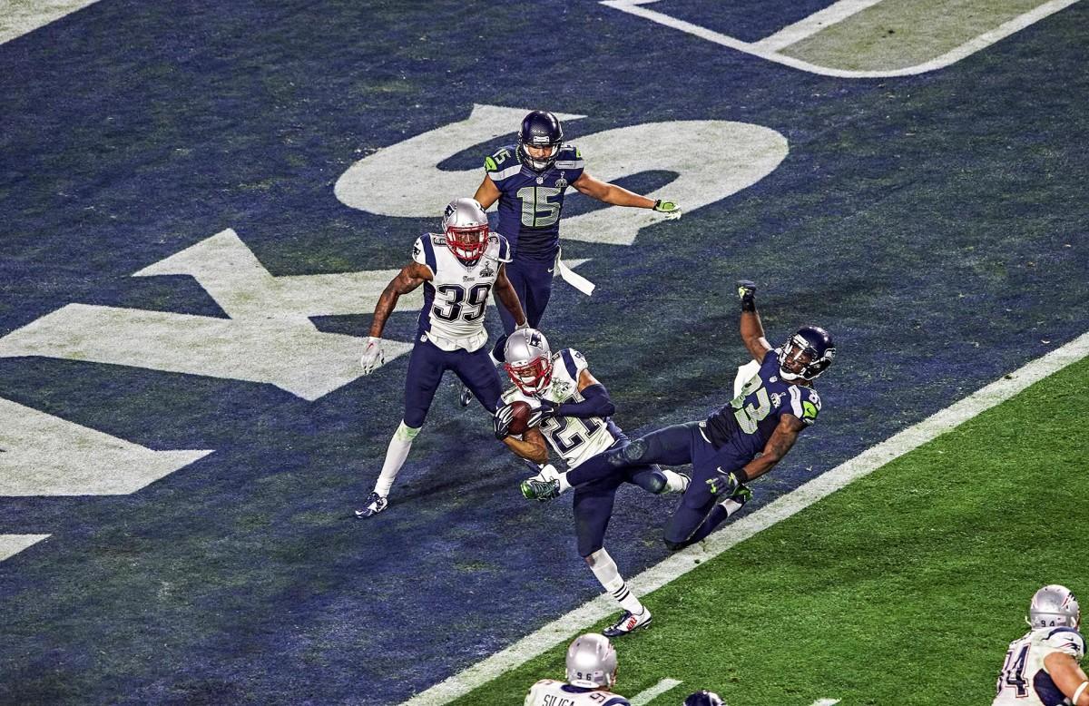 Malcolm Butler's goal-line interception in Super Bowl XLIX
