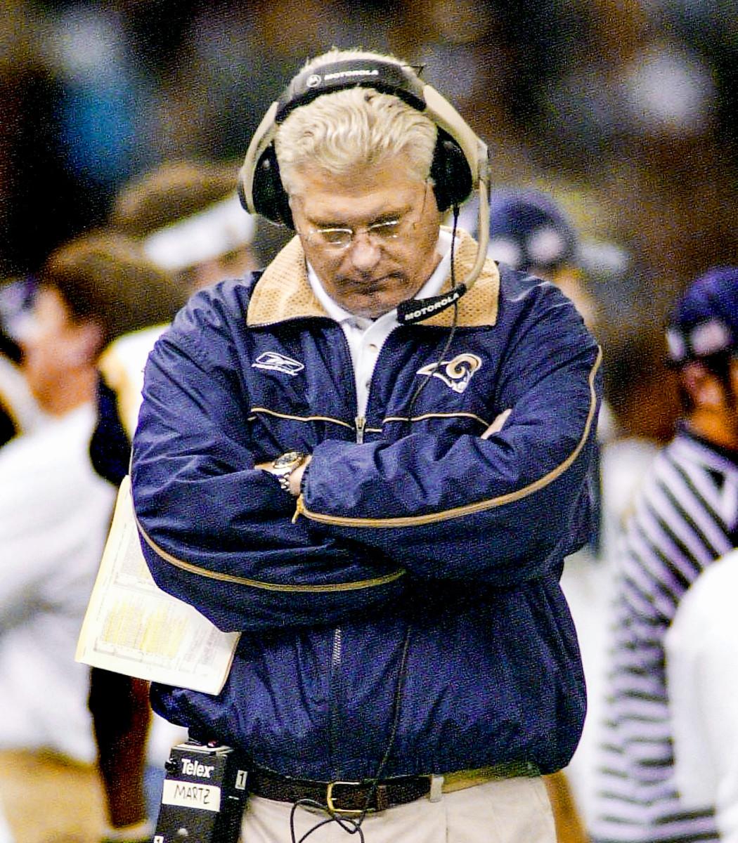 Former Rams coach Mike Martz
