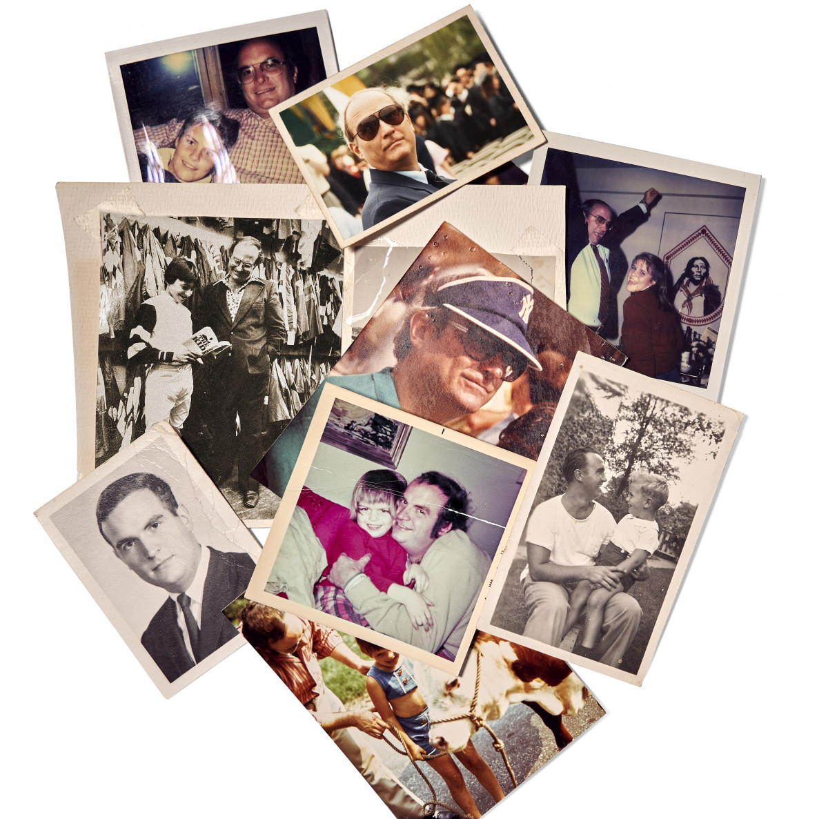 """Prose aside, Megan remembers a """"charmed"""" childhood, captured in her photo collection. """"My dad spoiled me, for sure. He called me 'princess,' the 'perfect daughter.' """""""