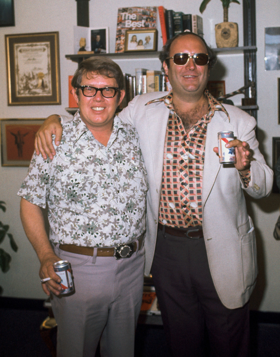 Axthelm threw back PBRs in 1977 with the First Brother, Billy Carter (left), whom he profiled for Newsweek.