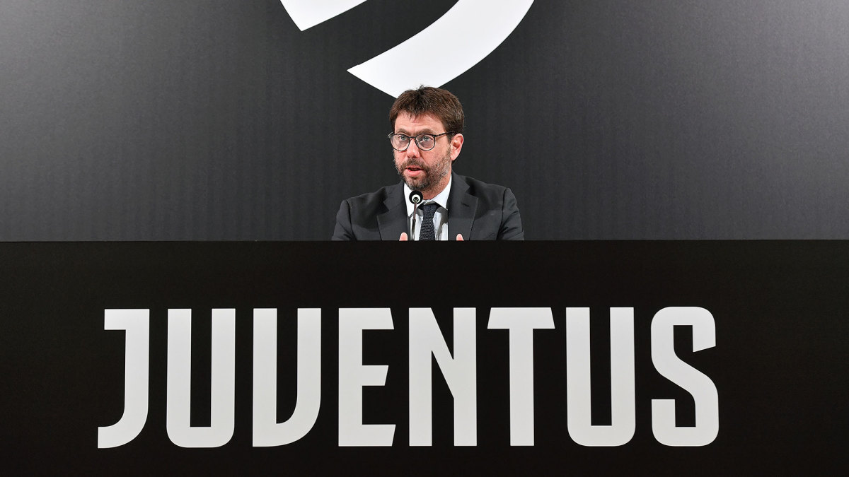 Juventus chairman Andrea Agnelli