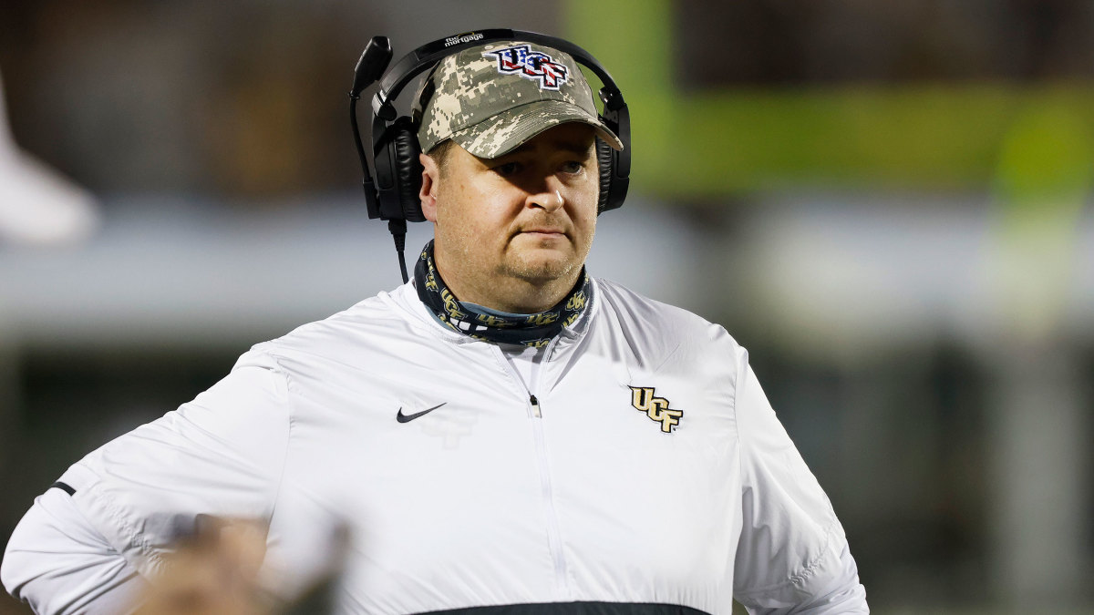 New Tennessee football coach Josh Heupel while at UCF