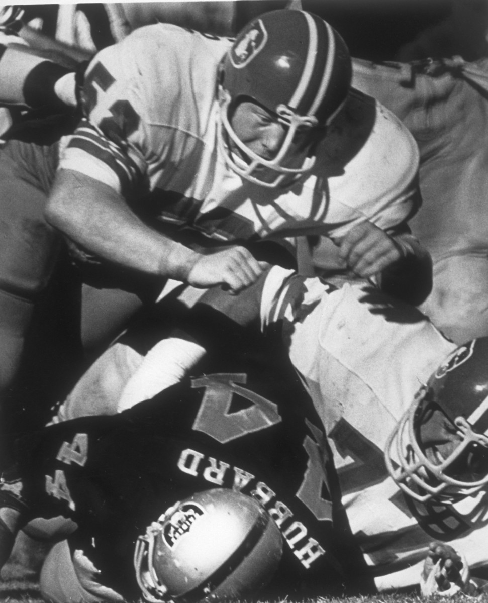 Fred Forsberg played five seasons for the Denver Broncos.