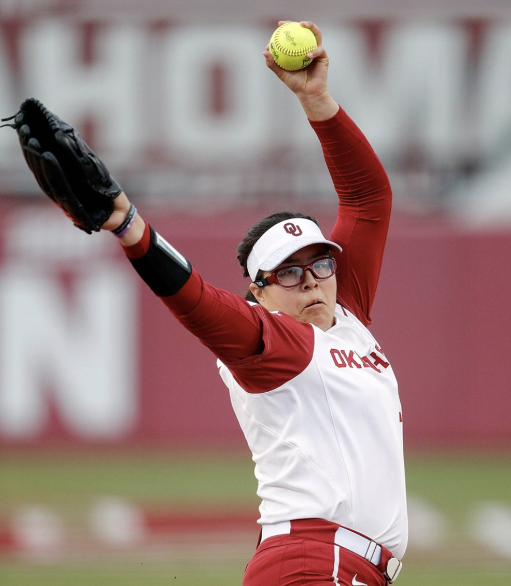 The Sooner pitching staff ranks seventh in the country with a team ERA of 1.45, and has combined for 21 shutouts, the most in college softball.
