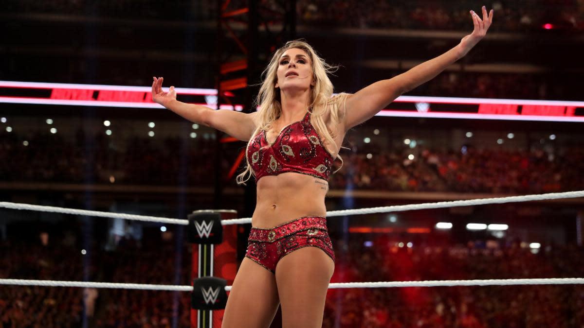 WWE wrestler Charlotte Flair