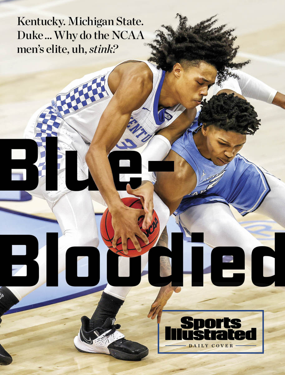 Daily Cover: Blue-Bloodied