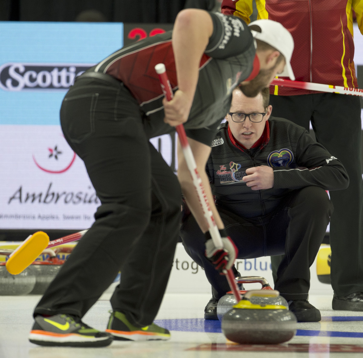 Scott McDonald • Michael Burns-Curling Canada