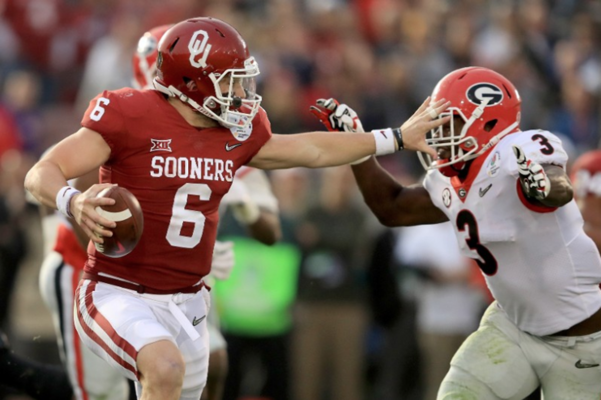 Baker Mayfield's historic OU career ended with OU's sixth Heisman Trophy in 2017.