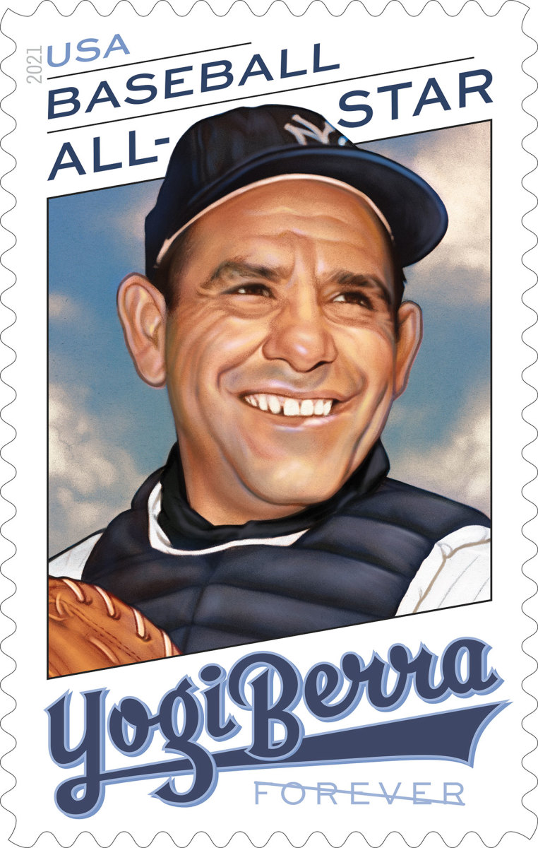 Yogi Berra's Yankees legacy lives on with USPS 2021 stamp - Sports  Illustrated