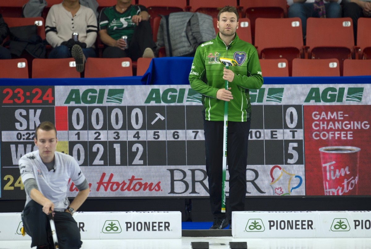 Eight ends will probably enlarge the advertisements • Michael Burns-Curling Canada