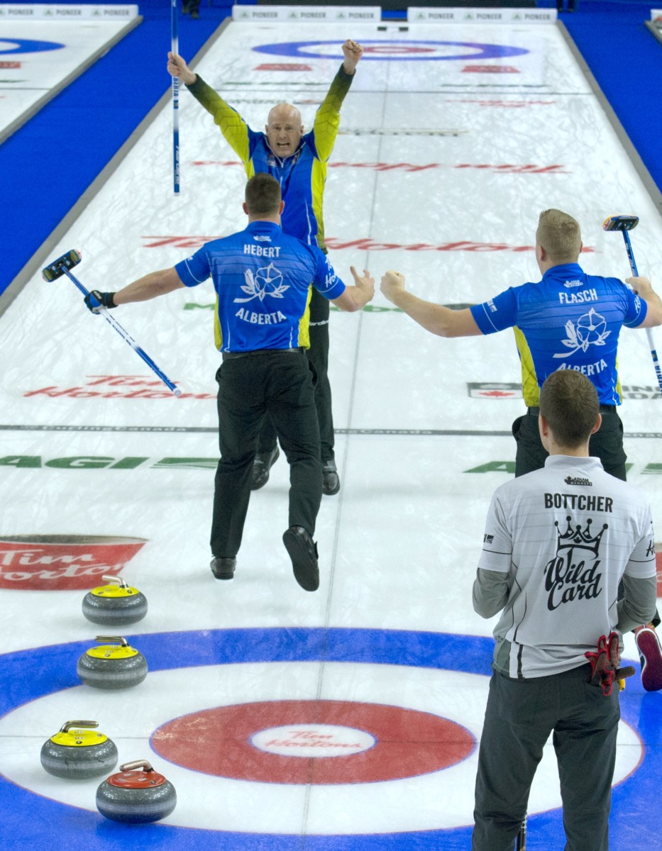 Kevin Koe wins the 2019 Brier • Michael Burns-Curling Canada