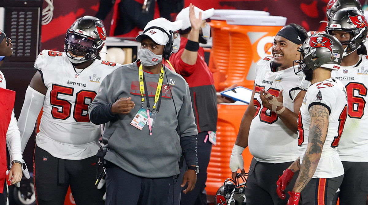 Todd Bowles's defense didn't let the Chiefs get anything going on offense in Super Bowl 55.