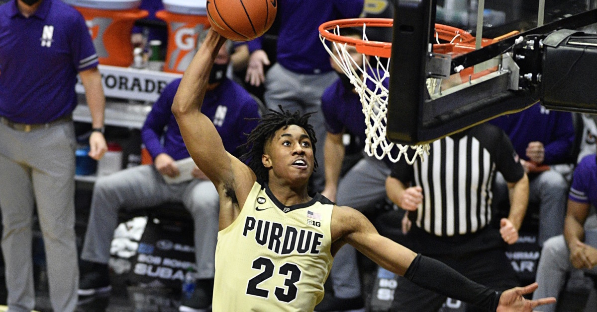 Freshman Jaden Ivey has had several magical moments for the Boilermakers already this season. (USA TODAY Sports)