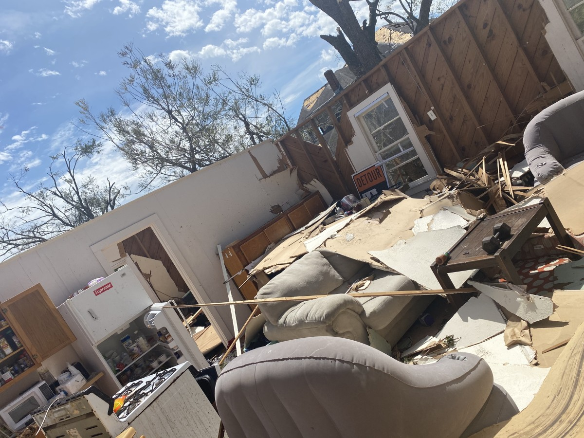 Isaiah Chambers returned to his apartment in Lake Charles, Louisiana, in August to find it without a roof and his belongings ruined from Hurricane Laura