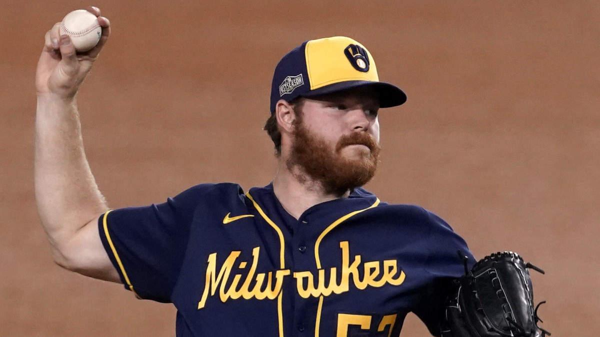 Milwaukee Brewers Brandon Woodruff